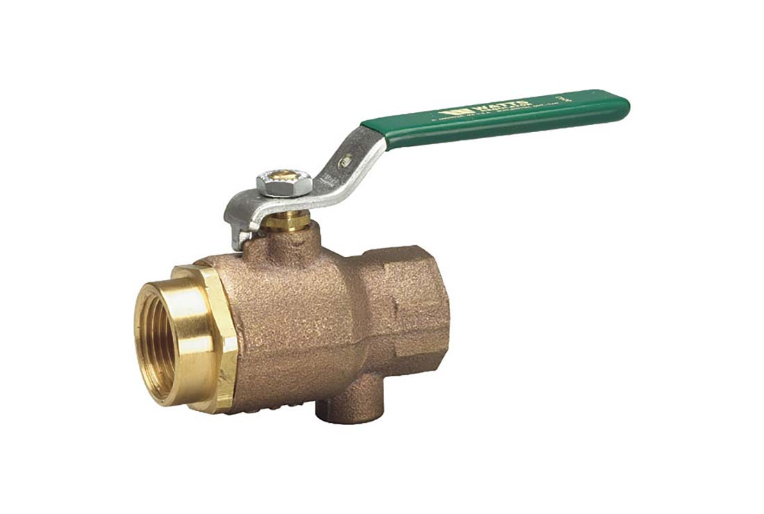 watts plumbing ball valve