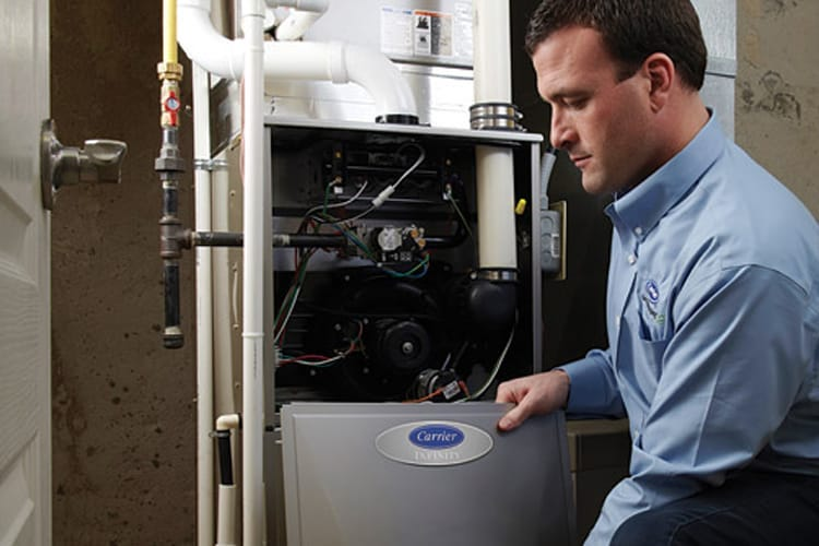 man furnace repair service